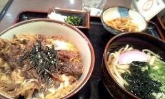 130107昼馬肉丼セット.jpg