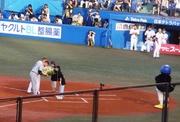 20100718_試合前のセレモニー、ブラゼルとガイエル.jpg