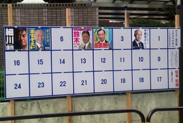 2014-01-24 九段下にて都知事選ボード.jpg
