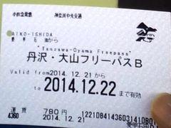 20141221_愛甲石田駅でフリーパス.jpg