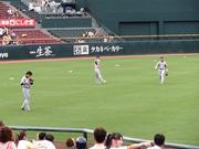 アニキと粗いさんのキャッチボール.jpg