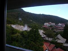 湯元ホテルの窓から.JPG